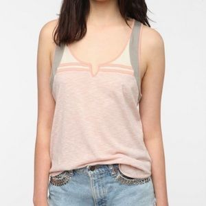 Urban outfitters colorblock tank top